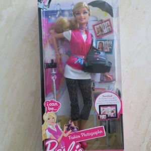 Barbie i can be Fashion Photographer